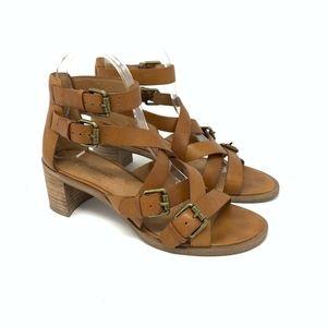 Madewell Leather Talisa Buckle Sandal Size 7 {AP}